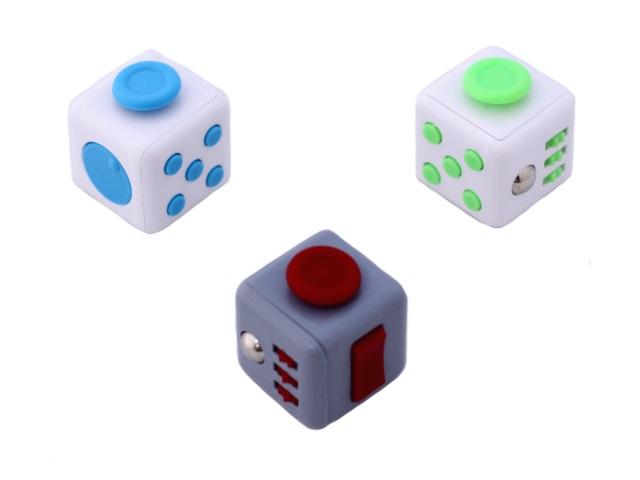 Кубик-антистресс 3.5 см ассорти 02