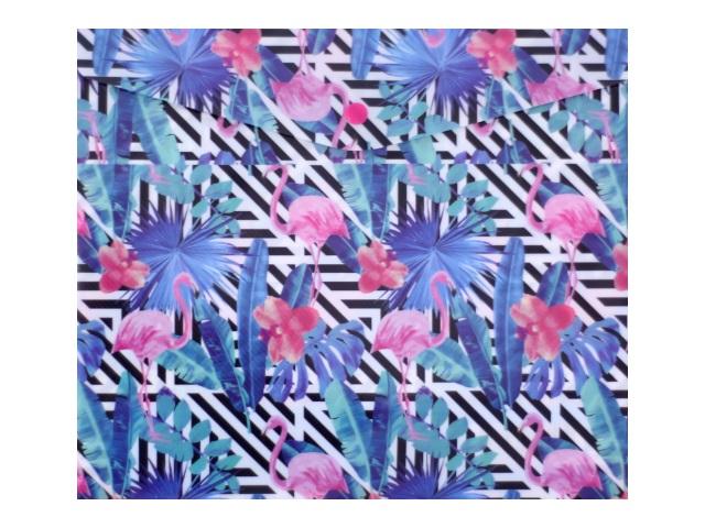 Папка конверт на кнопке В5 детская Фламинго 180мкм Limpopo 22053102