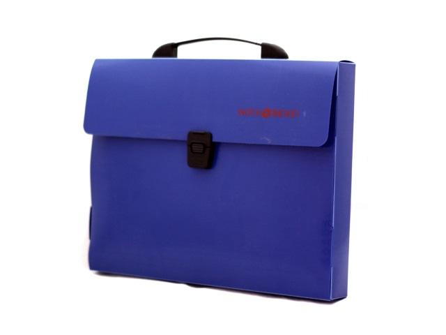 Портфель А4  1 отделение пластик синий на замке Expert Complete 22168230