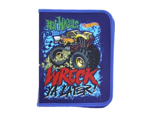 Папка для тетрадей А5 на молнии Hot Wheels Mattel 4255010