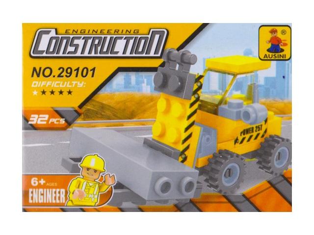 Конструктор  32 детали Engineering Construction 29101