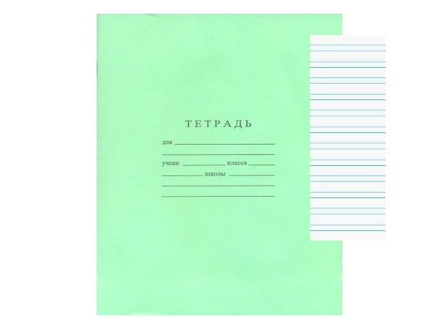Тетрадь 12л узкая линия Зеленая WM 002004700