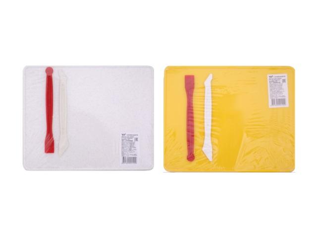 Доска для пластилина А5 +2 стека цветная WM 189000100