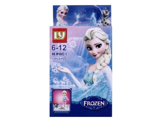 Конструктор  15 деталей Frozen 1002-1-6