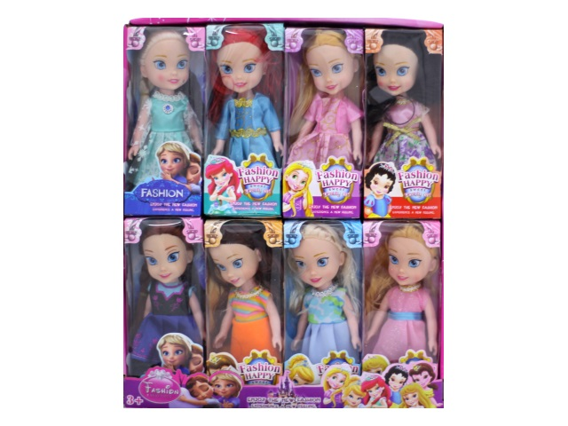 Кукла Принцесса Fashion Happy 16 см 3357 6805