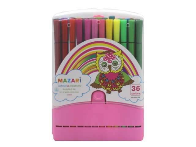 Фломастеры 36цв Mazari Junior М-5055-36