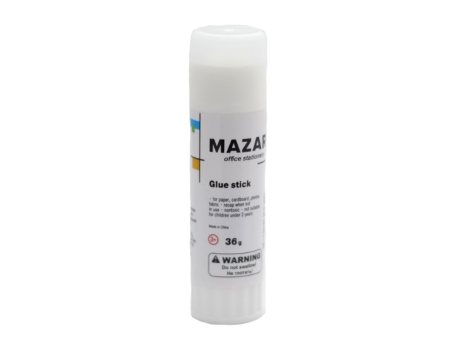 Клей-карандаш 36г Mazari М-5673