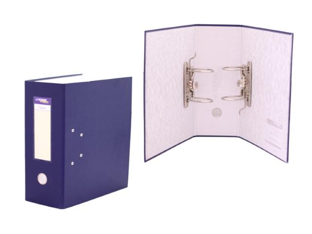 Регистратор  А4/125 2 арочных механизма синий 251541