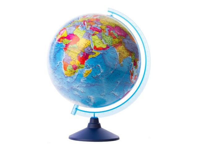 Глобус политический D 250 мм рельефный КЕ022500203