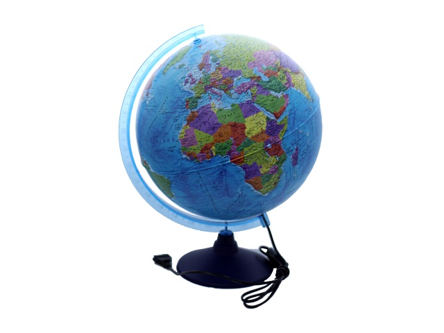 Глобус политический D 320 мм с подсветкой Ке013200227
