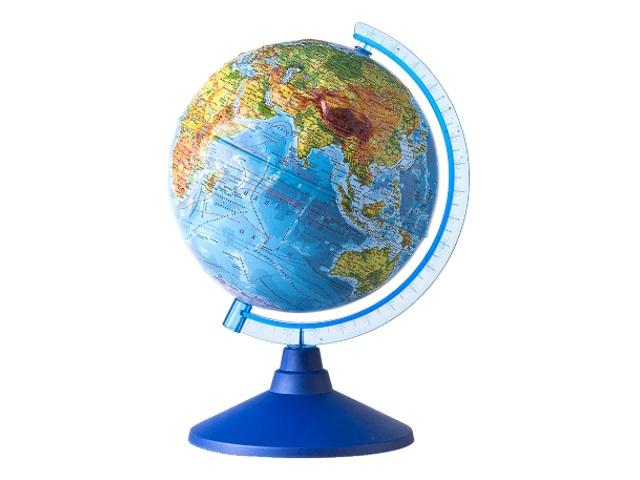 Глобус физический D 320 мм рельефный Ке013200229