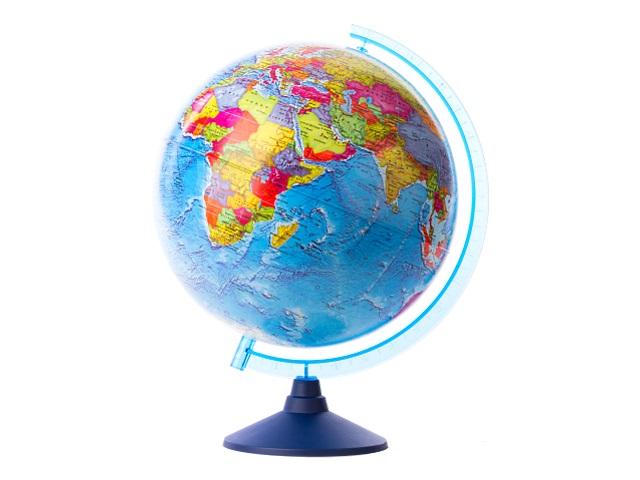Глобус политический D 320 мм рельефный Ке013200230