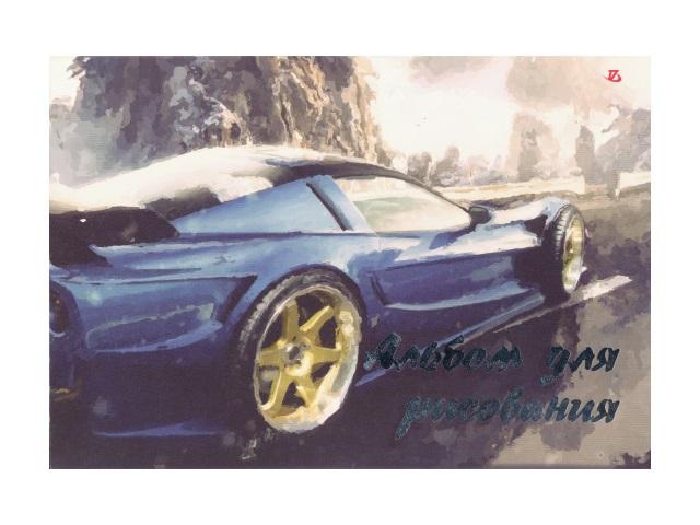 Альбом 20л А4 клееный Спорткар 100 г/м2 Академия Групп ЕАС-8531-2