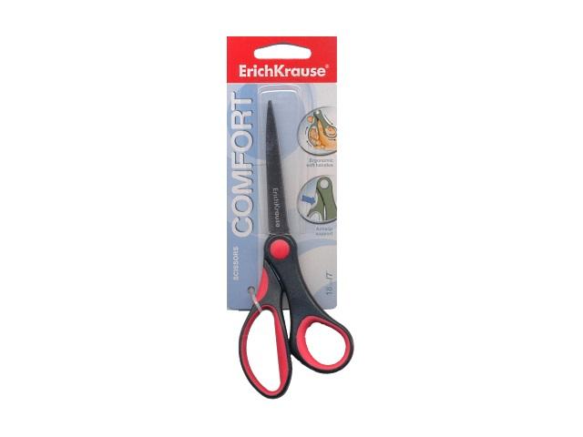 Ножницы 18 см пластиковые ручки Comfort Erich Krause EK-35110