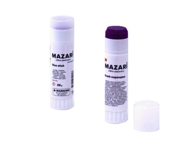 Клей-карандаш 36г Хамелеон Mazari М-5677