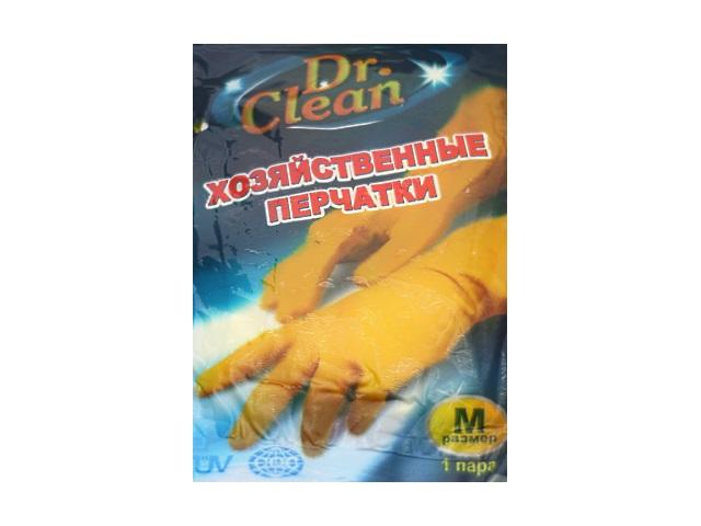 Перчатки резиновые Dr.Clean размер М