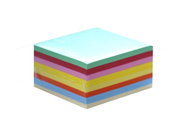 Блок бумажный цветной  90*90 мм 500л С237