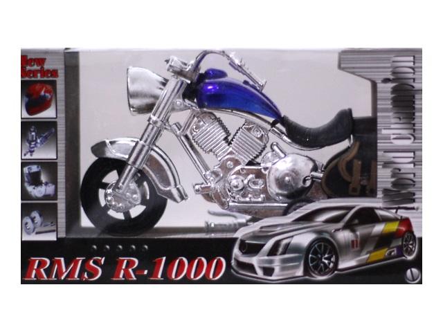 Мотоцикл пластиковый RMS R-1000 15 см в коробке