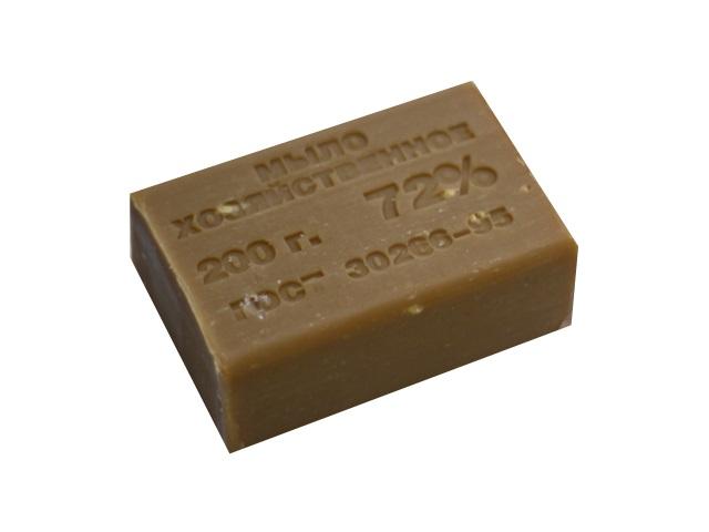 Мыло хозяйственное 72% 200г Калужский блеск ГОСТ 30266-95