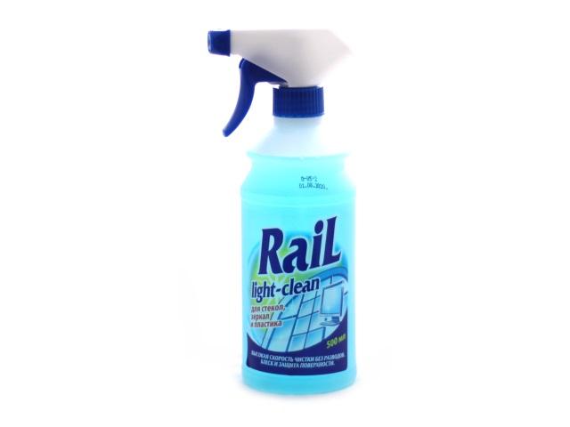 Моющее средство для стекол 500 мл Rail, Аист