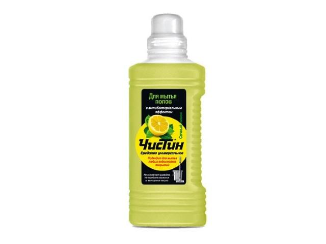 Средство для мытья полов 1л Чистин Сочный лимон