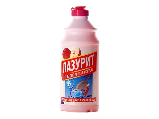 Моющее средство для посуды Яблоко 500 мл Лазурит, Аист
