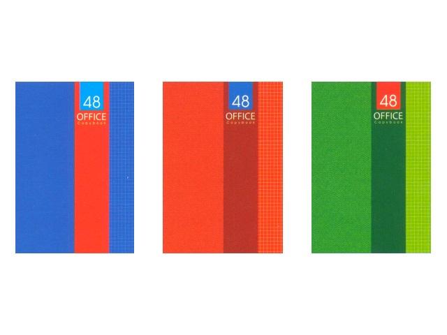 Книга канцелярская А4 Офис-классика, мягкая обложка 48 листов, Profit 48-0233