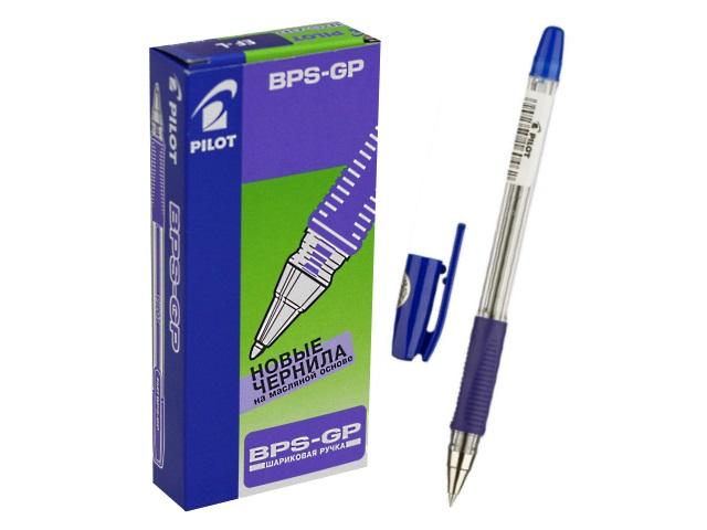 Ручка шариковая Pilot 0.5мм синяя BPS-GP-EF L