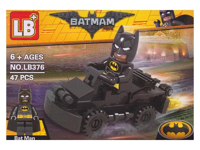Конструктор  47 деталей Batman LB376