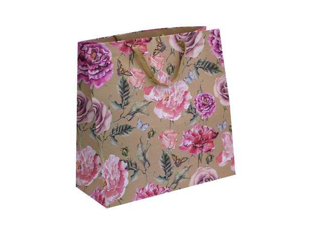 Пакет подарочный бумажный 47*47*20см Вернисаж Mazari М-8016