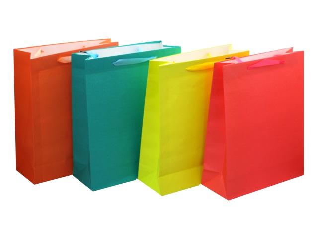 Пакет подарочный бумажный 32*26*10см Классика Mazari М-8032