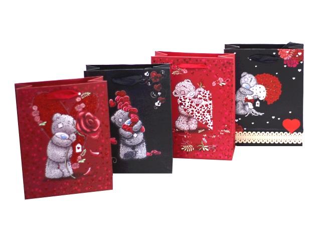 Пакет подарочный бумажный 18*23*8см For you Mazari М-8159