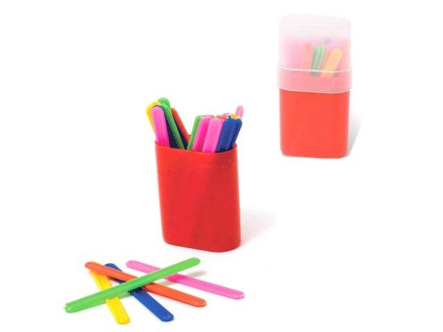 Палочки счетные 50 шт. цветные в пенале Mazari М-2004