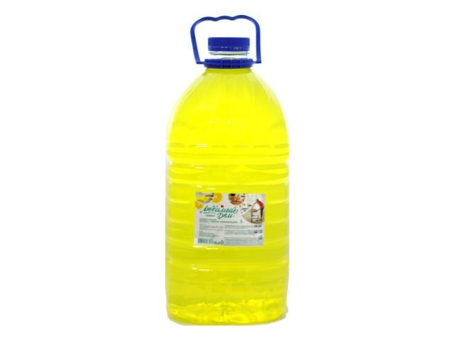 Моющее средство  5 л универсальное Любимый дом Лимон
