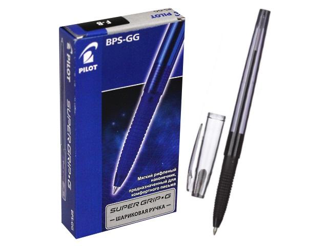 Ручка шариковая Pilot 0.7мм черная BPS-GG-F B