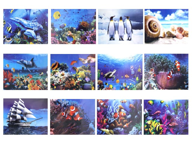 Алмазная мозаика 40*50см Морской мир Mazari М-6433/12