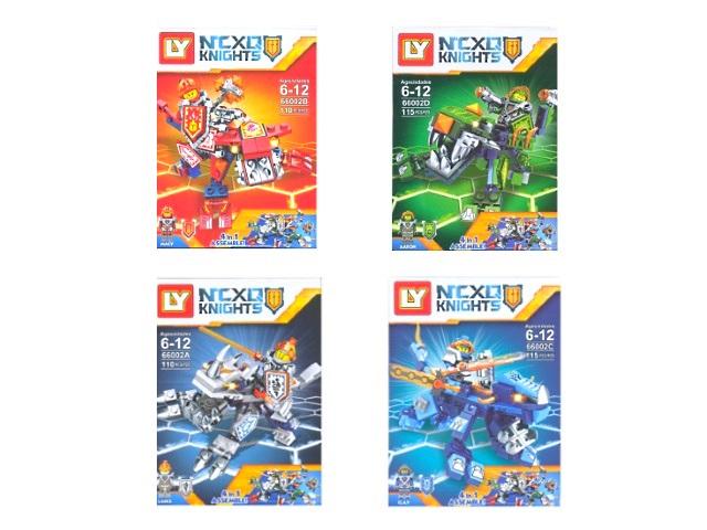 Конструктор 110-115 деталей NCXQ Knights 66002