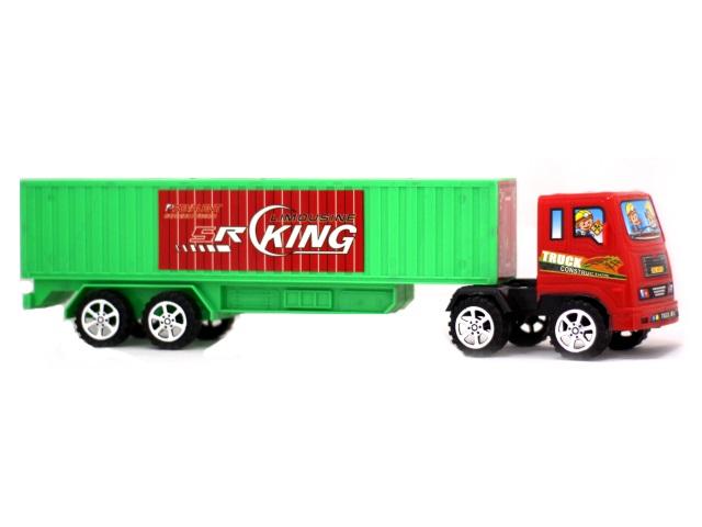 Машина инерционная пластиковая Грузовик Truck 40 см в слюде, арт. 6819