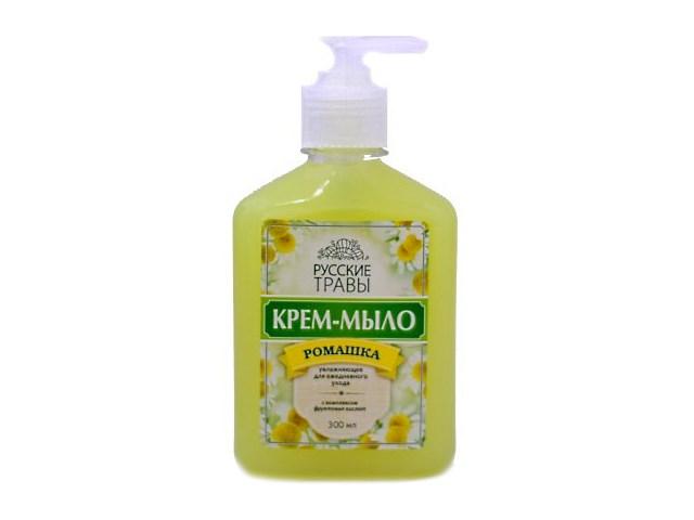 Мыло жидкое с дозатором Ромашка 500 мл, Русские травы