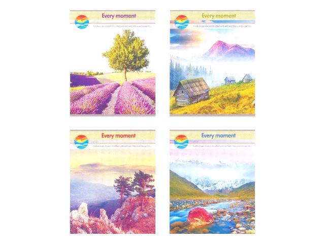 Тетрадь 60л клетка Красивые пейзажи Prof Press 60-2875