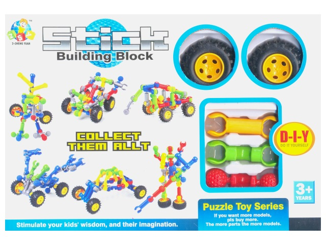 Конструктор Zoom Stick Building Block, Tongde SY9911