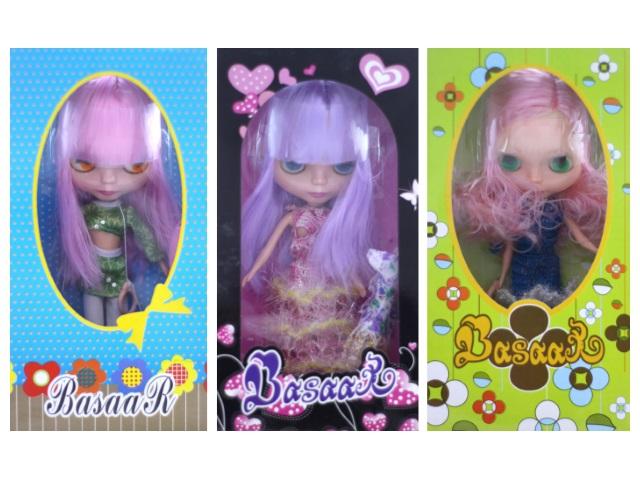Кукла Basaar 27 см ассорти 2801