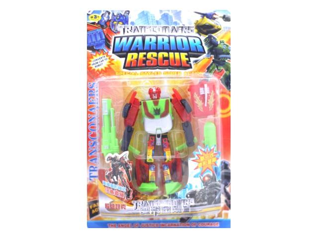 Трансформер Warrior Rescue 13см 300-1