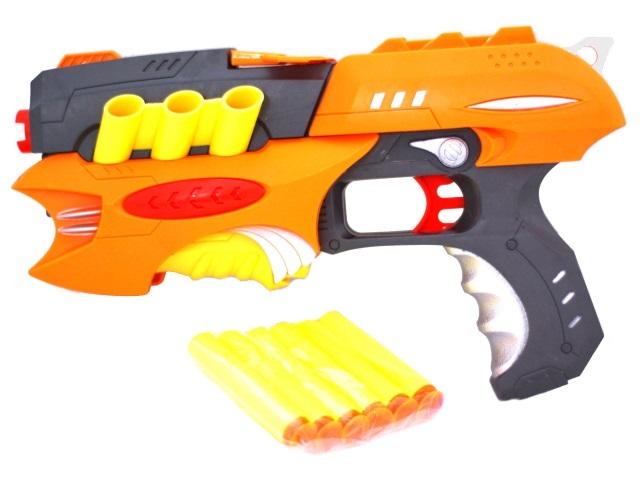 Бластер Air Gun 6 пуль 1206