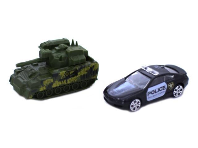 Машина металл Model Car ассорти 80991