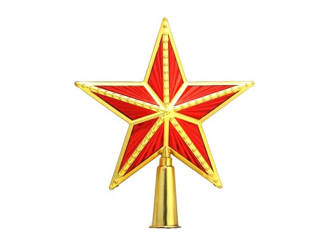 Ёлочная игрушка Верхушка Звезда 15*15см №2 170786-3
