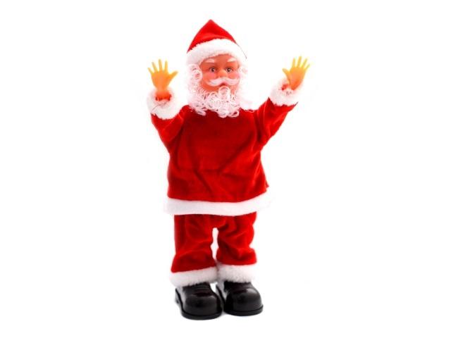 Дед Мороз акробат 16см музыкальный