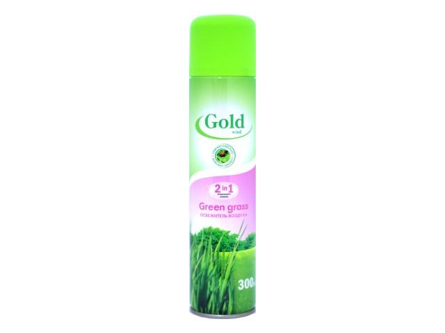 Освежитель воздуха 300 мл Зеленый чай Gold Wind