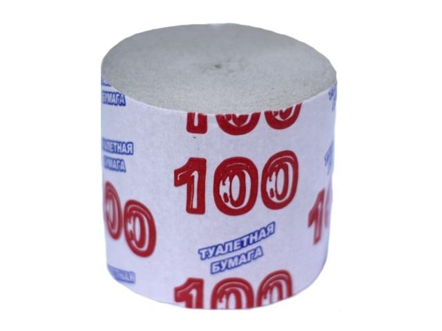 Бумага туалетная 100м
