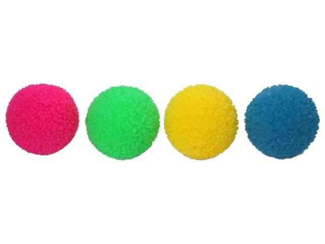 Мяч  6.5 см рифленый светящийся